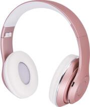 BHS-300 BLUETOOTH HEADPHONES MUSIC SOUL PINK FOREVER