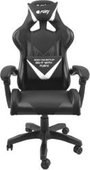 NFF-1711 AVENGER L GAMING CHAIR BLACK/WHITE FURY