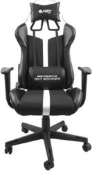 NFF-1712 AVENGER XL GAMING CHAIR BLACK/WHITE FURY