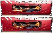 RAM F4-2133C15D-16GRR 16GB (2X8GB) DDR4 2133MHZ RIPJAWS 4 RED DUAL CHANNEL KIT GSKILL