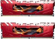 RAM F4-2666C15D-8GRR 8GB (2X4GB) DDR4 2666MHZ RIPJAWS 4 RED DUAL CHANNEL KIT GSKILL