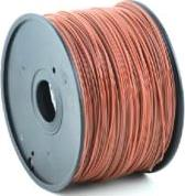 PLA PLASTIC FILAMENT ΓΙΑ 3D PRINTERS 3 MM BROWN GEMBIRD