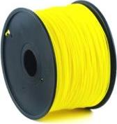 PLA PLASTIC FILAMENT ΓΙΑ 3D PRINTERS 3 MM YELLOW GEMBIRD