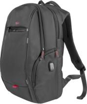 NBG-1121 PALLAD 400 USB 15.6'' LAPTOP BACKPACK BLACK GENESIS
