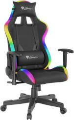 NFG-1577 TRIT 600 RGB GAMING CHAIR BLACK GENESIS