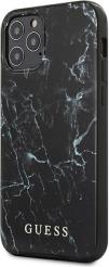 IPHONE 12 MINI 5,4 GUHCP12SPCUMABK BLACK HARD BACK COVER CASE MARBLE GUESS