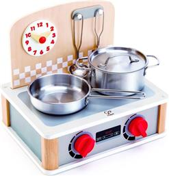 PLAYFULLY DELICIOUS ΞΥΛΙΝΗ ΚΟΥΖΙΝΑ & GRILL SET 2 IN 1 (E3151A) HAPE