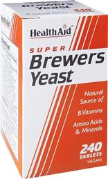 BREWERS YEAST ΜΑΓΙΑ ΜΠΥΡΑΣ 300MG - 240 TABS HEALTH AID
