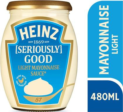ΜΑΓΙΟΝΕΖΑ SERIOUSLY GOOD LIGHT 480 ML HEINZ