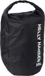 ΣΑΚΙΔΙΟ HH LIGHT DRY BAG 20L ΜΑΥΡΟ HELLY HANSEN