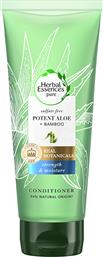 CONDITIONER POTENT ALOE & BAMBOO HERBAL ESSENCE PURE (2X180ML) 1+1 ΔΩΡΟ HERBAL ESSENCES