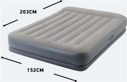 PILLOW REST MID-RISE DOUBLE AIRBED MATRESS 152 X 203 X 30 CM (9000010963-17029) INTEX