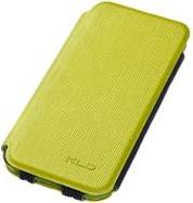 FOLIO CASE CHARMING2 FOR IPHONE 5 GREEN PLASTIC KALAIDENG