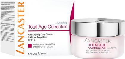 TOTAL AGE CORRECTION AMPLIFIED - ANTI-AGING DAY CREAM & GLOW AMPLIFIER SPF15 50 ML - 8571036141 LANCASTER