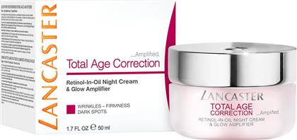 TOTAL AGE CORRECTION AMPLIFIED - RETINOL-IN-OIL NIGHT CREAM & GLOW AMPLIFIER 50 ML - 8571036137 LANCASTER