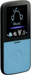 PODO-153 SPORT MP3 PLAYER 4GB WITH PEDOMETER BLUE LENCO