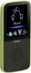PODO-153 SPORT MP3 PLAYER 4GB WITH PEDOMETER LIME LENCO