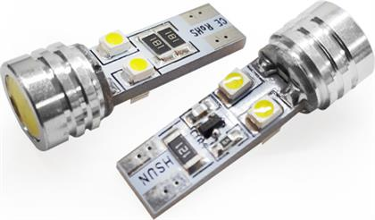 T10 CAN BUS ΜΕ 4 SMD 1210 ΨΥΧΡΟ ΛΕΥΚΟ 06377 LMS