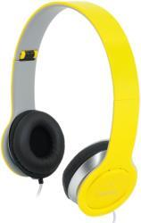HS0030 SMILE STEREO HIGH QUALITY HEADSET WITH MICROPHONE YELLOW LOGILINK