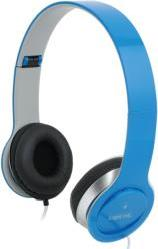 HS0031 SMILE STEREO HIGH QUALITY HEADSET WITH MICROPHONE BLUE LOGILINK