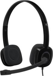 H151 STEREO HEADSET WITH NOISE-CANCELLING MIC LOGITECH