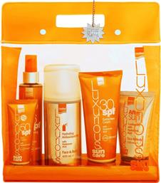 SUN CARE HIGH PROTECTION PACK,ΠΑΚΕΤΟ ΥΨΗΛΗΣ ΑΝΤΗΛΙΑΚΗΣ ΠΡΟΣΤΑΣΙΑΣ 5 ΤΕΜΑΧΙΑ LUXURIOUS