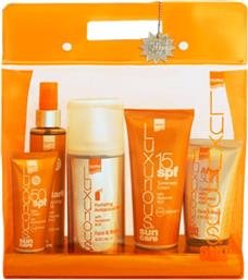 SUN CARE MEDIUM PROTECTION PACK ΠΑΚΕΤΟ ΧΑΜΗΛΗΣ ΑΝΤΗΛΙΑΚΗΣ ΠΡΟΣΤΑΣΙΑΣ ΜΕ 5 ΠΡΟΙΟΝΤΑ LUXURIOUS