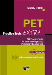 PET PRACTICE TESTS EXTRA STUDENT'S BOOK (+CD-ROM +CD) ΜΑΡΙΝ-BLACK CAT