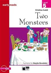 TWO MONSTERS (+CD) ΜΑΡΙΝ BLACK CAT