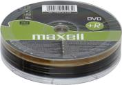 DVD+R 4.7 GB 16X 10PCS MAXELL