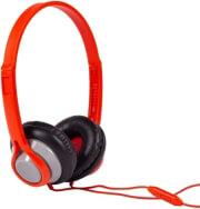HP360 LEGACY HEADPHONES WITH MIC RED MAXELL