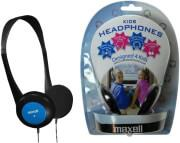 KIDS HEADPHONES BLUE MAXELL
