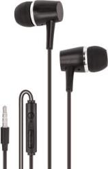 WIRED EARPHONES MXEP-02 BLACK MAXLIFE