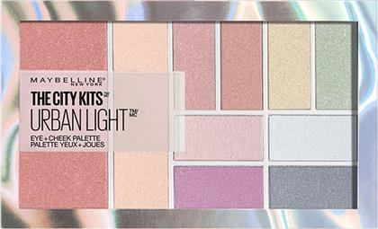 THE CITY KITS ALL-IN-ONE PALETTE URBAN LIGHT MAYBELLINE