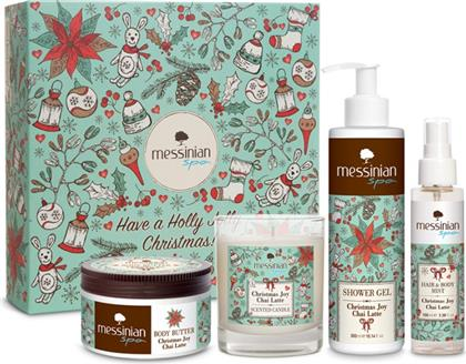 CHRISTMAS JOY CHAI LATTE GIFT BOX MESSINIAN SPA