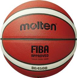 FIBA APPROVED INDOOR SIZE7 B7G4500 ΠΟΡΤΟΚΑΛΙ MOLTEN