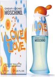 CHEAP & CHIC I LOVE LOVE EDT 50 ML - 6A30 MOSCHINO