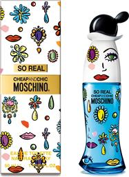 CHEAP & CHIC SO REAL EDT 50 ML - 6U30 MOSCHINO
