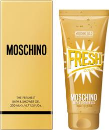 GOLD FRESH COUTURE BATH & SHOWER GEL 200 ML - 6S48 MOSCHINO