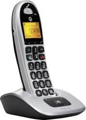 CD301 DECT CORDLESS PHONE WITH HANDSFREE SOCKET SILVER MOTOROLA