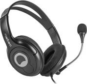 NSL-1178 BEAR 2 HEADPHONES WITH MICROPHONE BLACK NATEC