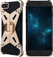BARDE METAL CASE STAND 2 WITH RING FOR APPLE IPHONE 7 GOLD NILLKIN