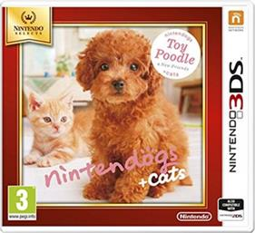 GS + CATS: TOY POODLE AND NEW FRIENDS SELECTS - 3DS/2DS GAME NINTENDO
