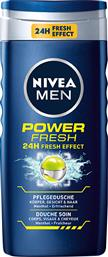 SHOWER GEL ΓΙΑ ΑΝΔΡΕΣ POWER FRESH MEN (500 ML) NIVEA