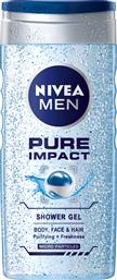 SHOWER GEL ΓΙΑ ΑΝΔΡΕΣ PURE IMPACT MEN (500 ML) NIVEA