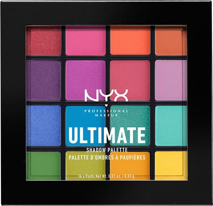 ULTIMATE SHADOW PALETTE BRIGHTS NYX PROFESSIONAL MAKEUP