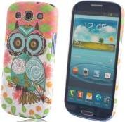 FANCY CASE OWL FOR SAMSUNG I9500 OEM