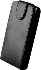 LEATHER CASE FOR HTC DESIRE 200 BLACK OEM