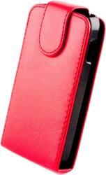 LEATHER CASE FOR SAMSUNG D710 RED OEM