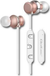 50823 PREMIUM IN-EAR HEADPHONES WIRELESS BT WITH MICROPHONE CHAMPAGNE QOLTEC
